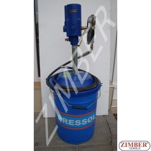 Пневматична грес помпа Pressol с количка Pressol 20kg