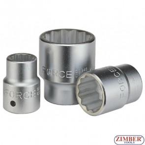 Вложка 22 мм 3/4 дванадесетостенна-FORCE