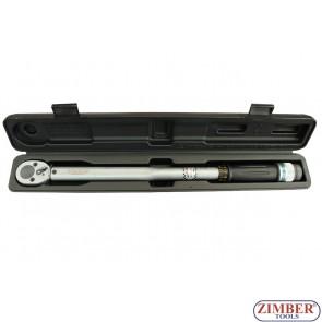 """Динамометричен ключ 1/2"""" - 40-210 Nm, ZR-17TW12210 - ZIMBER - PROFESSIONAL"""