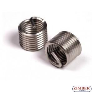Втулки за възстановяване на резби M10 x 1,0 x 13,5mm, 1бр. - ZIMBER-PROFESSIONAL