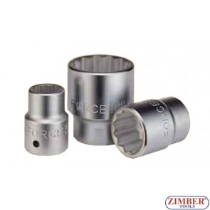 Вложка 32 мм 3/4 дванадесетостенна-FOFCE