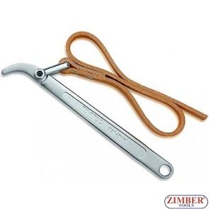"""Ключ с ремък за дехидратори и маслени филтри за камиони 12""""- ZIMBER"""