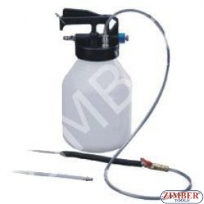 Пневматична комбинирана помпа (вакуум и налягане) за източване на масла и течности