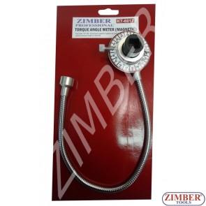 Градусомер магнитен 1/2 . ZL-6017- ZIMBER TOOLS