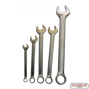 Ключ звездогаечен 32 mm, (DIN 3113) -ZR-17CW32V021- ZIMBER - PROFESSIONAL