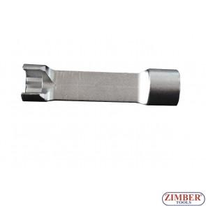 Ключ 14mm за монтаж, демонтаж на (горивни) инжекторни тръбопроводи за Mercedes-Benz Sprinter - ZR-36ILS3814 - ZIMBER PROFESSIONAL