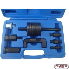 Инструмент скоба обратен чук за вадене на CDI Common Rail дюзи Mercedes,  ZR-36INP09 - ZIMBER PROFESSIONAL