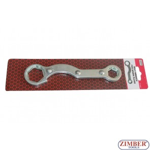Специален ключ за мотоциклети 32mm, 27mm, 21mm, 17mm , 4 размера - ZR-36BW - ZIMBER-PROFESSIONAL