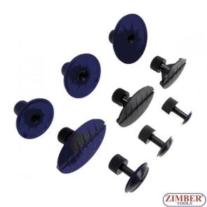 Подложки за издърпване на вдлъбнатини – 9 части /от к-т 36DDMK/ (ZR-41PDDMK9) - ZIMBER-TOOLS