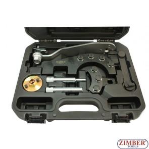 под наем, Комплект за зацепване на двигател на VW - TOUAREG, TRANSPORTER T5 8 части, ZR-36ETTS188 - ZIMBER-TOOLS.