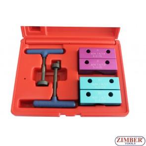 К-т за зацепване на двигатели TWIN SPARK ALFA ROMEO - 1.4, 1.6, 1.8 и 2.0L 16V, ZR-36ETTS37  - ZIMBER-PROFESSIONAL