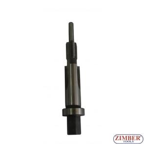 Резервен метчик (резба 9х25G) за възстановяване на резби при работа със скъсани свещи ( от к-т 36GPT )  - ZIMBER - TOOLS
