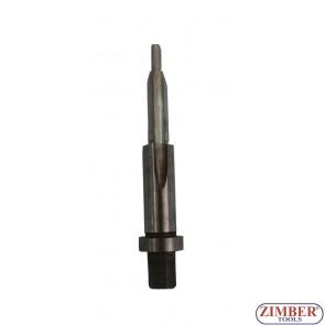 Резервна конусна бургия 8мм за скъсани подгревни свещи (от к-т за скъсани свещи 36GPT) - ZIMBER - TOOLS