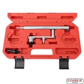 К-т инструменти за зацепване ангренажната система на  FIAT-1,6 16V - ZIMBER-TOOLS