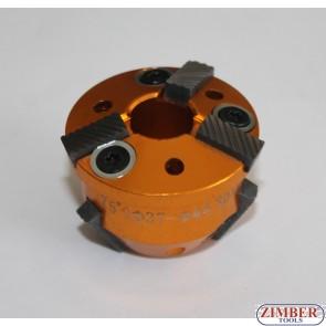 Фреза за леглата на клапани 37-mm-44mm 75° и 30° (резервна част от к-т: ZR-36VRST, ZR-36VRST10) - ZIMBER-TOOLS.