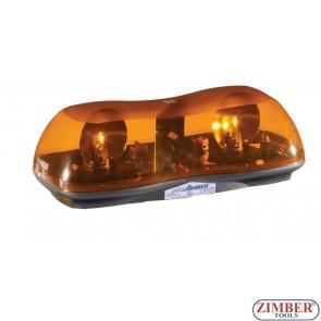 Сигнална лампа, Лайтбар с магнит 42cm 12V