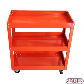 Шкаф за инструменти на колела - 3 етажа