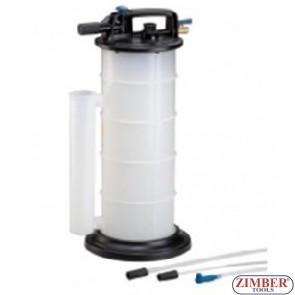 Пневматична вакуум помпа масла и спирачна течност 9 L - ZIMBER