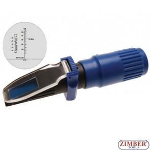 Рефрактометър за урея, акумулаторна киселина и антифриз - ZIMBER