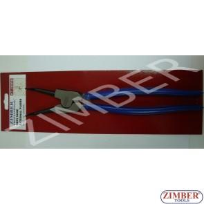 "Зегер клещи 12"" криви отварящи - 300мм - ZIMBER"