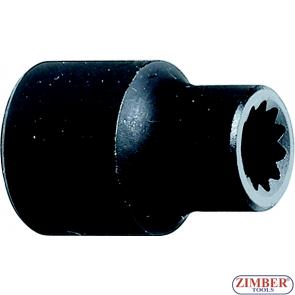"""Вложка за спирачни апарати 3/8""""- 30L ,VOLVO, SCANIA,BOVA - ZR-36BCS01 - ZIMBER -PROFESSIONAL"""