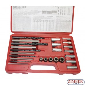 Комплект екстрактори за скъсани болтове/шпилки, ZR