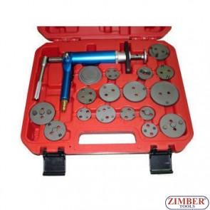 К-т за сваляне на спирачни цилиндри на въздух 18 части, ZR-36APB - ZIMBER-PROFESSIONAL