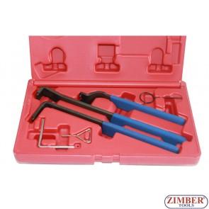 К-т инструменти за обтяжни ролки на VW, AUDI 1,9TDI PD, 1,4-TDI PD- ZIMBER-TOOLS.