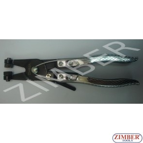 Flat band hose clamp pliers (ZR-19CPSJHPHV) -ZIMBER TOOLS