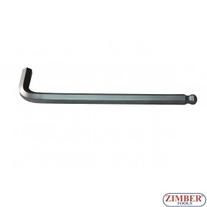 L-Type Wrench extra long internal Hexagon / internal Hexagon with Ball Head  2 mm (76502L) - FORCE