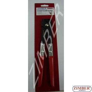 CV Boot Clamp Pliers, (ZL-6144) - ZIMBER TOOLS