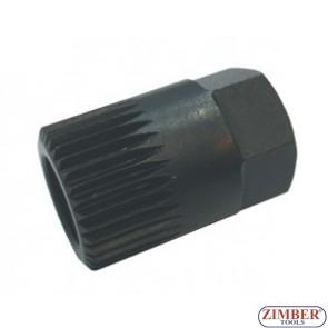 Ключ за алтернатори Н17х33Тх30 мм, ZR-36AW1733 - ZIMBER-Professional