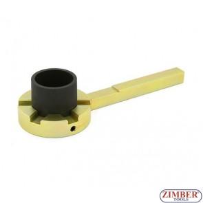 ПОД НАЕМ - Инструмент за фиксиране на демпферни шайби на колянов вал BMW (E39/E46/E60/E61/E81/E83/E90/E91) - ZT-04A4041 - SMANN PROFESSIONAL