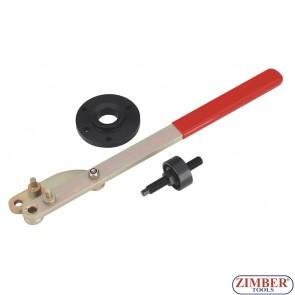 Crankshaft Pulley Remover & Installer Set - For Ford / Mazada, ZR-36ETTS272 - ZIMBER TOOLS.