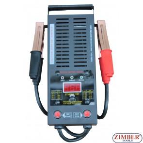Товарна вилка за тестване на акумулатори 12V - 250Ah/ 1,000 CCA - ZT-04D3002 - SMANN TOOLS.