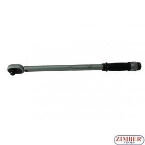 """Динамометричен ключ 1/2"""" - 28-210 Nm, ZR-17TW12210 - ZIMBER - PROFESSIONAL"""