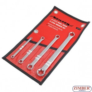 Ключове звезди E к-т 4 бр - E6xE8; E10xE12; E14xE18; E20xE24,  0199 -Neilsen-Tools.