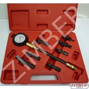 Компресомер с метчици за ремонт на резби