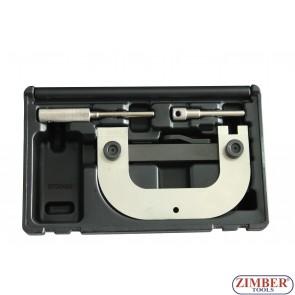 Комплект за зацепване на двигатели Renault , Dacia, Vauxhall / OpeL, Nissan, 1.4, 1.6, 1.8, 2.0 16v - ZR-36ETTS09 - ZIMBER-PROFESSIONAL