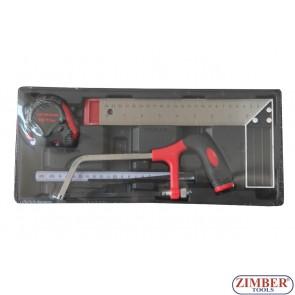 К-т с измервателни инструменти, ZT-00804 - SMANN TOOLS.