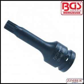 "Вложка удaрна RIBE M10,  75 мм 1/2"" -  5482-M10 - BGS technic."