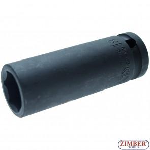 Вложка ударна шестостенна 18mm. 1/2 --ZB-7218 - BGS technic