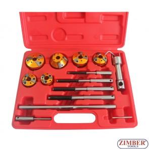 Комплект инструменти за  фрезоване легла на клапани , ZR-36VRST- ZIMBER-PROFESSIONAL