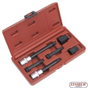К-т ключове за демонтаж на шайбите на алтернатори - 6 части -ZR-36ATS06- ZIMBER PROFESSIONAL