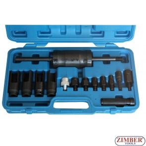 Под наем - К-т обратен чук за вадене на дюзи, ZT-04A3002 - Инструмент под наем 40 лв за 24 часа - SMANN TOOLS.