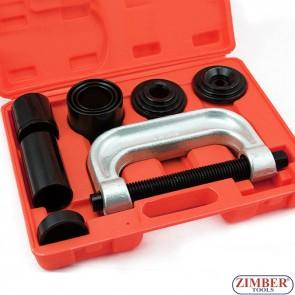 К-т скоби за монтаж и демонтаж на накрайници и шарнири, ZT-04009 - SMANN-PROFESSIONAL