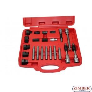 К-т за демонтаж на шаибите на алтернатори 22 части, ZT-05075 - SMANN PROFESSIONAL