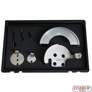 К-т за монтаж демонтаж на многоканални ремъци BMW, Fiat ,Volvo, Peugeot - ZR-36IT01 - ZIMBER TOOLS.