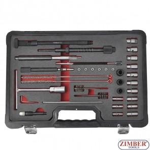 К-т за почистване леглата на дизелови дюзи - ZT-04A3065 - SMANN PROFESSIONAL