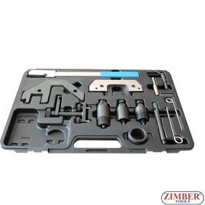 К-т за зацепване на дизелови двигатели BMW M41, M51, M47 - M47 TU/T2,  M57 TU/T2 2.0l/3.0l -  ZIMBER-TOOLS.